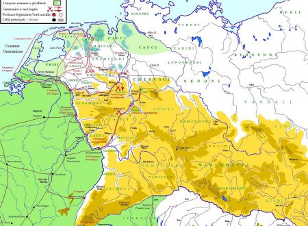 La flotta imperiale romana del Reno