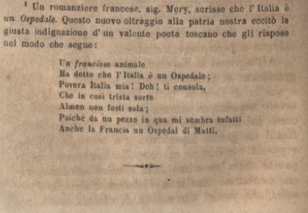 """Mentone in """"Viaggio da Genova a Nizza scritto da un ligure nel 1865"""""""